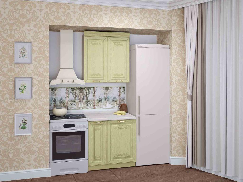 Кухня Оливия Грин от DaVita-мебель