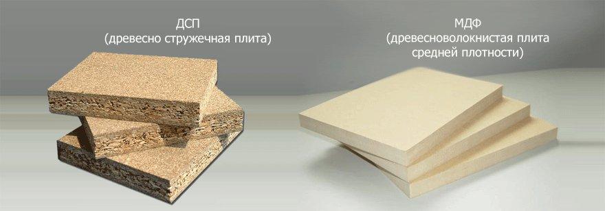Мебель мдф и лдсп отличие