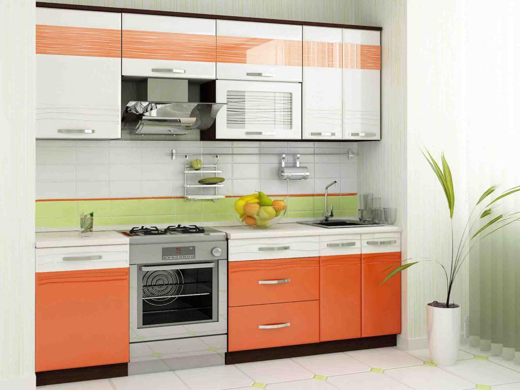 Кухня Оранж от DaVita-мебель